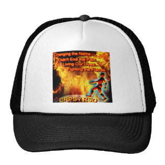 CRPS/RSD Living Our Lives, Fighting the Flames Trucker Hat