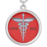 CRPS RSD Medical Alert Caduceus Necklace