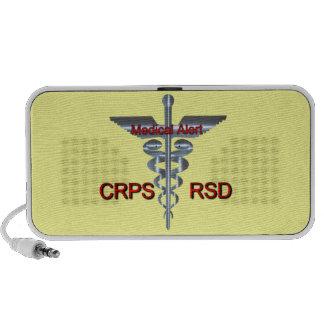CRPS RSD Medical Alert Doodle iPhone Speaker
