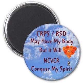 CRPS/RSD puede tener mi imán del cuerpo