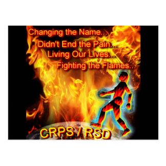 CRPS/RSD que vive nuestras vidas, luchando las Tarjetas Postales