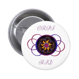 CRPS/RSD Rainbow Blaze Button