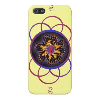 CRPS/RSD Rainbow Blaze & Scroll I-Phone 4 Case iPhone 5/5S Cases