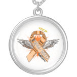 CRPS/RSD Ribbon Angel Necklace