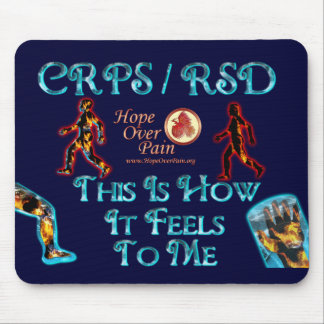 CRPS RSD This Is How It Feels to Me Mouse Pad