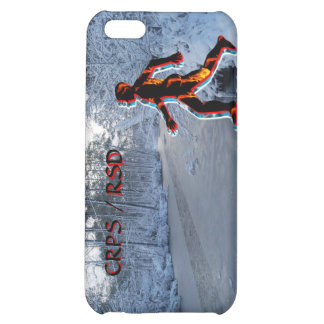 CRPS/RSD Up The Creek Winter Blaze iPhone4 Case iPhone 5C Covers