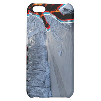 CRPS/RSD Up The Creek Winter Blaze iPhone4 Case Case For iPhone 5C