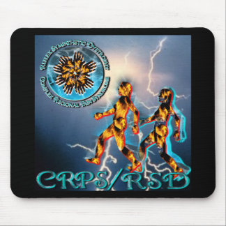 CRPS/RSD Weathering the Storm - Turquoise Mouse Pad