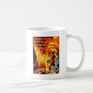 CRPS / RSD  Woman's Blazing Silhouette Coffee Mug