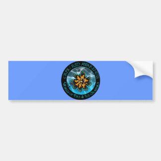 CRPS/RSD World of Fire & Ice Bumper Sticker