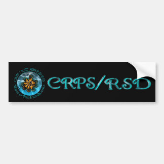 CRPS /RSD World of Fire & Ice Bumper Sticker