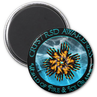 CRPS/RSD World of Fire & Ice Magnet