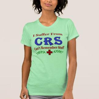 CRS no puede recordar la materia Camisetas