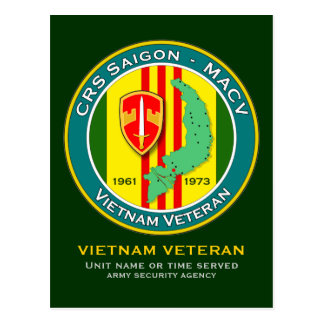 CRS Saigon 1 - ASA Vietnam Tarjetas Postales