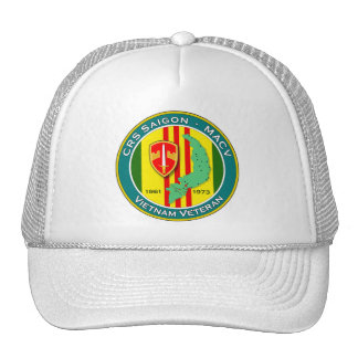 CRS Saigon 1 - ASA Vietnam Trucker Hat