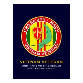 CRS Saigon 2 - ASA Vietnam Postcard