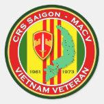 CRS Saigon 2 - ASA Vietnam Stickers