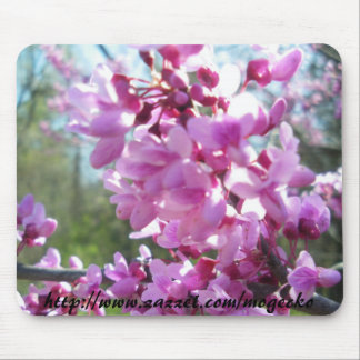 CRSP Redbud Tree 4-21-9, http://www.zazzel.com/... Mouse Pad