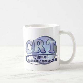 CRT CERTIFIED RADIOLOGIC TECHNOLOGIST  BLUE LOGO COFFEE MUG