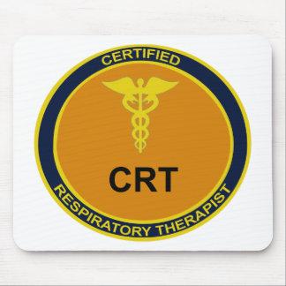 CRT Emblem Mouse Pad