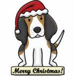 Crtn Treeing Walker Coonhound Christmas Ornament Photo Sculptures