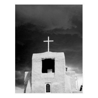 Cruce en la iglesia más vieja, San Miguel, Santa Postales