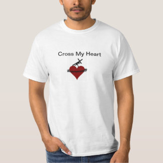 Cruce mi corazón playera