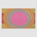CRUCE su corazón - Art101 círculos simples de los Rectangular Altavoces