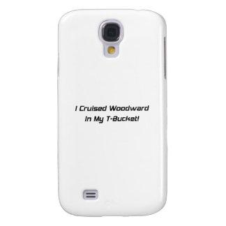 Crucé Woodward en mis regalos de Tbucket Woodward Funda Para Galaxy S4