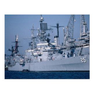 "Crucero de propulsión nuclear de USS Bainbridge"",  Tarjetas Postales"