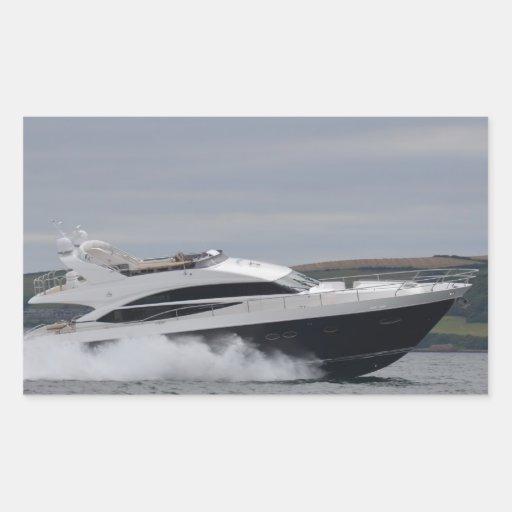 Crucero del motor a la velocidad rectangular altavoz