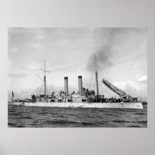 Crucero U.S.S. Atlanta, 1903 Poster