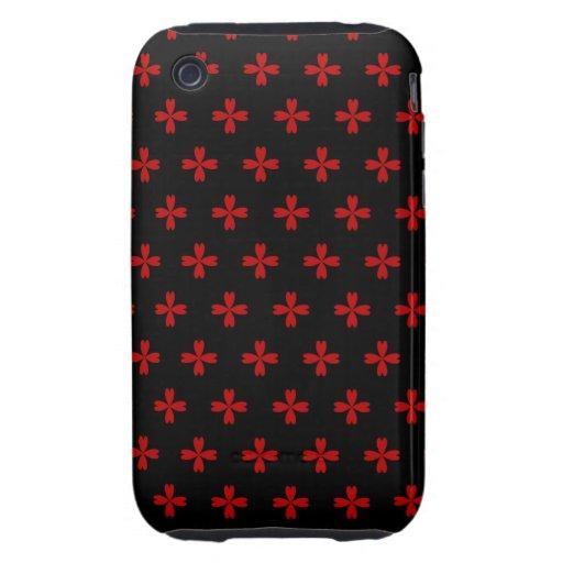 Cruces adaptables del corazón iPhone 3 tough cárcasa