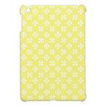 Cruces amarillas en colores pastel iPad mini fundas