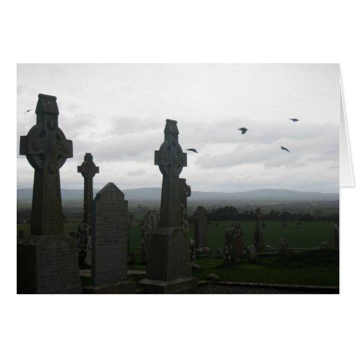 Cruces célticas tarjeton