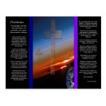 Cruces de los DESIDERÁTUMS sobre la postal de la