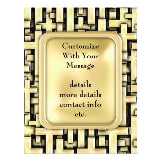 Cruces de oro tarjetas informativas