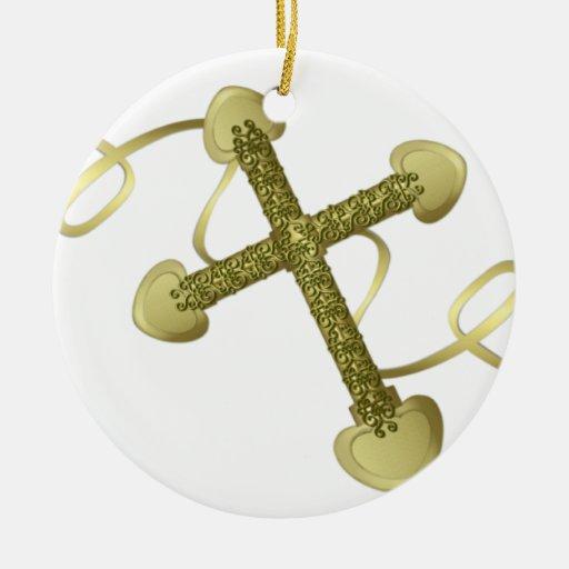 Cruces de ThreeGold Ornato