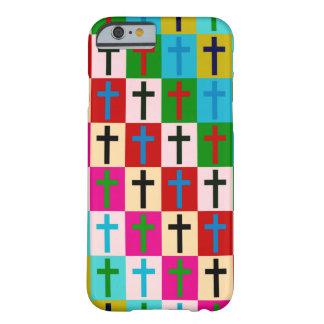 Cruces del arte pop funda de iPhone 6 barely there