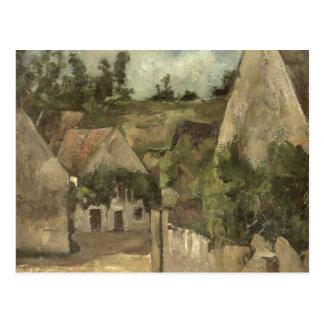 Cruces en la ruda Remy, Auvers, c.1872 Tarjetas Postales