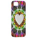 Cruces y corazón iPhone 5 Case-Mate carcasa