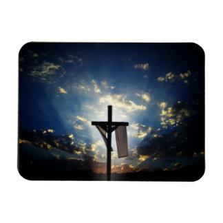 Cruces y escenas de Domingo de Pascua y de Ramos Imanes Rectangulares