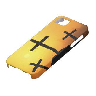 Cruces y escenas de Domingo de Pascua y de Ramos iPhone 5 Carcasa