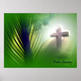 Cruces y escenas de Domingo de Pascua y de Ramos Póster