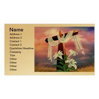 Cruces y escenas de Domingo de Pascua y de Ramos Tarjetas De Visita