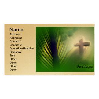 Cruces y escenas de Domingo de Pascua y de Ramos Tarjeta De Negocio