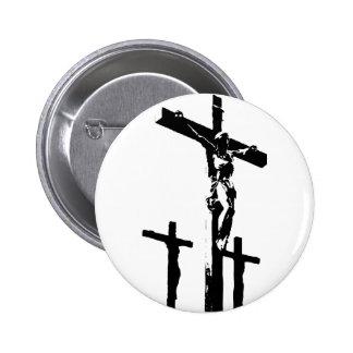 Crucfixion 2 Inch Round Button