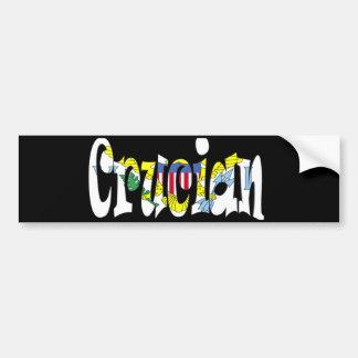 Crucian Bumper Sticker Car Bumper Sticker