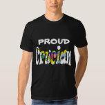 Crucian orgulloso remeras