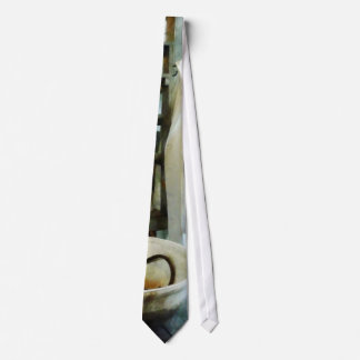 Crucible and Lab Coat Neck Tie